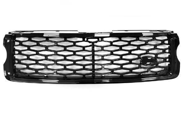 SVO Look Front Grille In Black With Black Mesh